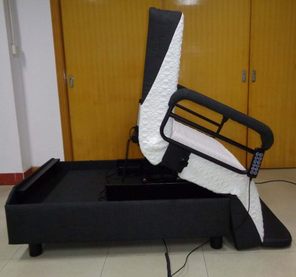 Online Hi-LO Chair Bed mcsmobility direct
