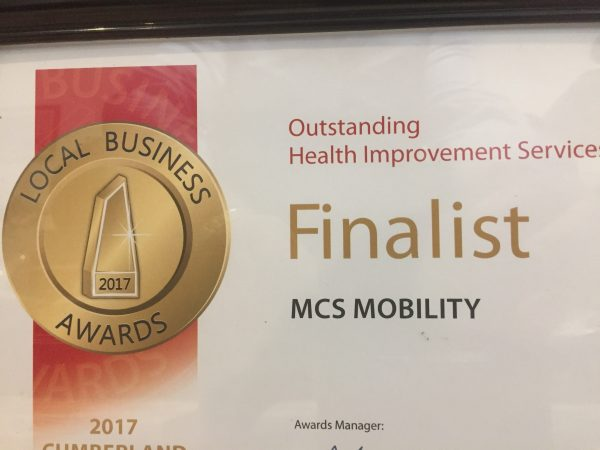 mcs mobility direct Local Business Awards