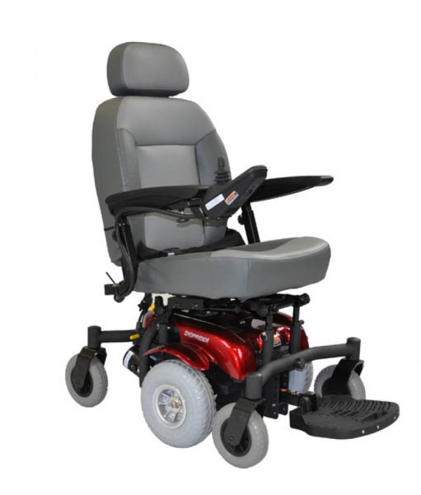 lectric Wheelchair Shoprider Puma Controls