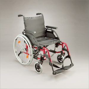 Breezy Basix Wheelchair