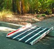 Invacare - Portable Ramp with Edge Barrier