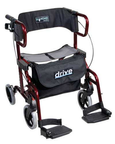 Diamond Deluxe Rollator 2 IN 1