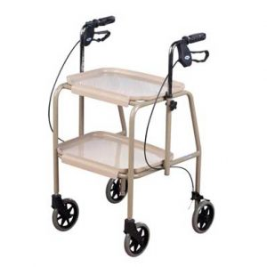 Adjustable Height Trolley Walker