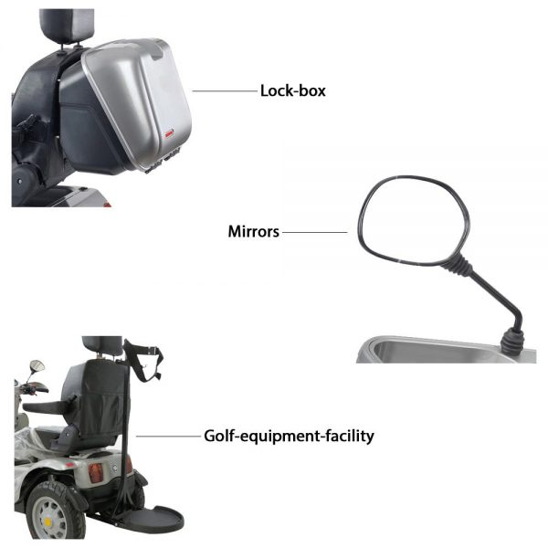 mcs Afiscooter Breeze S 4 Wheel Mobility Scooter