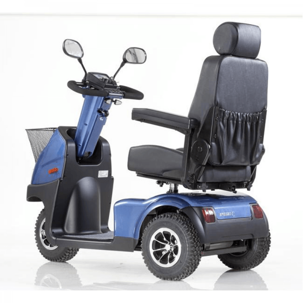 mcs mobility scooters C3 Blue back