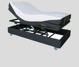 Electric Adjustable bed Hi LO mcs mobilitydirect
