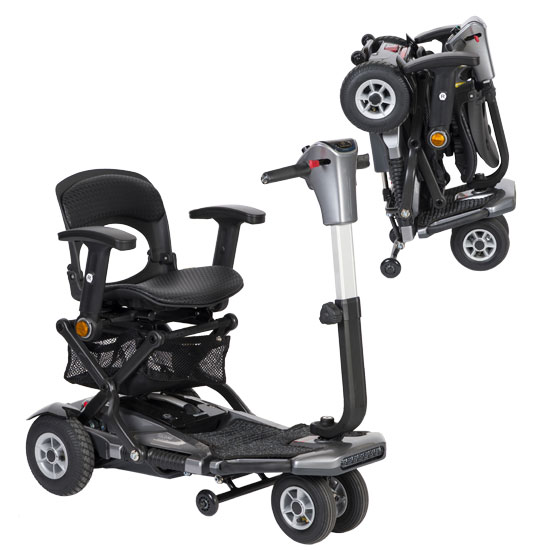 S19V Heartway Brio 3 Automatic Portable Mobility Scooter